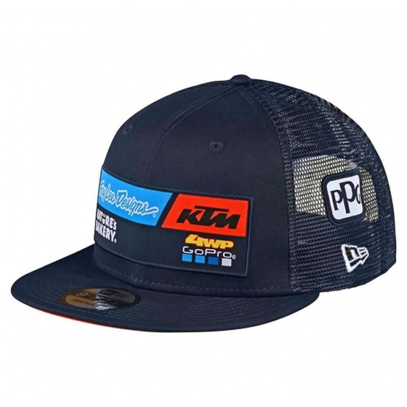 Gorra Troy Lee Desings KTM Team Snapback