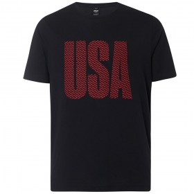 Camiseta Oakley USA Allover Hombre