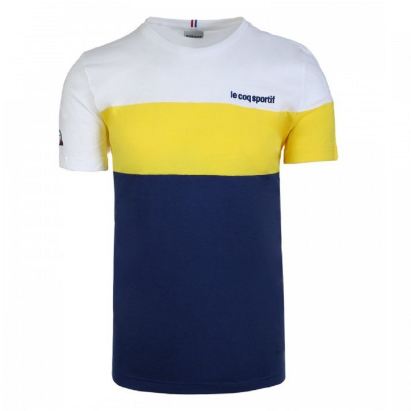 Camiseta Le Coq Sportif Tricolore Essentiels Hombre