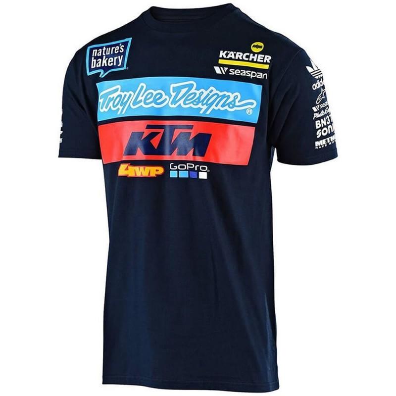 Camiseta Troy Lee Desing KTM Hombre