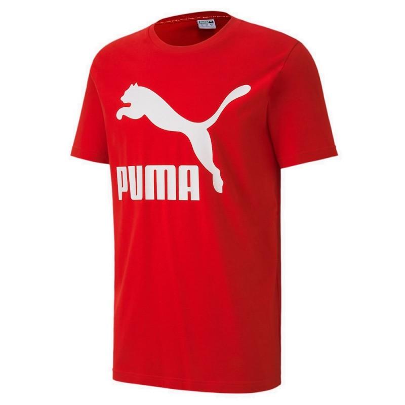 Camiseta Puma Classics Logo Tee Hombre