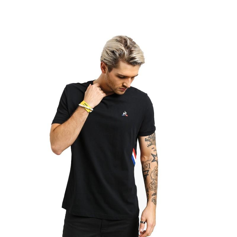 Camiseta Le Coq Sportif Tricolore Crew Hombre
