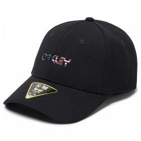 Gorra Oakley 6 Panel Stretch Metallic Hat Hombre
