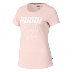 Camiseta Puma Grafica Rebelde Mujer