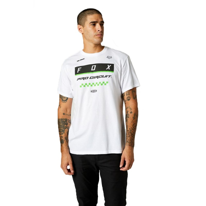 Camiseta Fox Pro Circuit Block Hombre