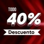 Descuento 40%