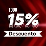 Descuento 15%