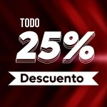 Descuento 25%